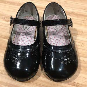 Stride Rite Camila MJ Black Shoes Sz 7.5M